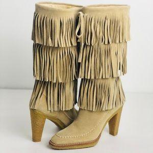 Michael Kors Fringe Boots